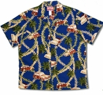 CLOSEOUT Plumeria Lei Woodie men's XL