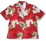 CLOSEOUT Plumeria Monstera Women's Shirt