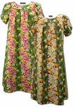 CLOSEOUT Bird of Paradise Plumeria MuuMuu Dress