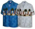 Plumeria Surfboard Men's Chest Band Shirt