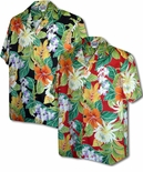 Polynesian Bouquet Men's Shirt