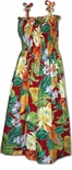 Polynesian Bouquet Sundress