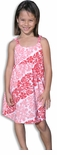 CLOSEOUT Polynesian Floral Girl's Bungee Dress