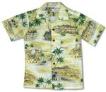 Polynesian Island Boys Cotton Shirt