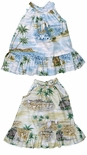 CLOSEOUT Polynesian Island Girl's Halter 2pc