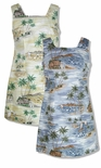 CLOSEOUT Polynesian Island Short Tank Dress