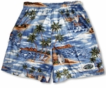 Polynesian Island 100% Cotton Men's & Boy's Shorts