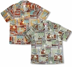 5X Polynesian Life Cycle Men's aloha Shirt