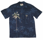 Polynesian Palm Men's Embroidered