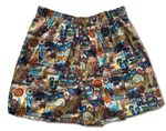 Pupule Surfing Spots Bamboo Boxer Shorts