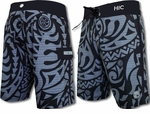 "21"" Pyramid Rock HIC 8 way stretch board shorts"
