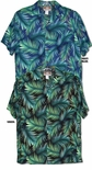 Radiant Leaf Men's Aloha Shirt