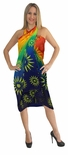 Rainbow Sheer Sunburst Full Size Terivoile Sarong