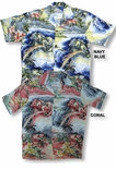 Rainbow Water Falls Men's Vintage Shirt