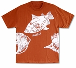 Reef Fish Cotton Tee Shirt