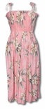 Retro Orchid Womens One Size Short or Long Tube Dress
