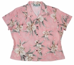 Retro Orchid Womens Fitted Blouse