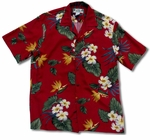 Retro Paradise Men' aloha shirt