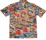 Route 66 - Corvettes Hawaiian Shirt