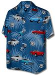Route 66 (RT66) Men's Poplin Cotton Shirt
