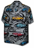 Route 66 Tribal Vintage Cars Men's Shirt