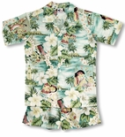 Royal Hawaiian Lei boy's size 10 & 12 & 14 cabana set