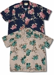 Sakura Cherry Blossom Men's Paradise Found Aloha Shirt
