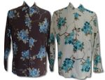 Sakura Cherry Blossoms Mens Long Sleeve Shirt