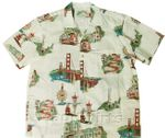 San Francisco mens cotton lawn shirt