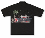 Santa's North Pole Flight Bamboo Cay Embroidered Shirt