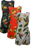 Bird of Paradise Display Women's Mock Wrap Sarong