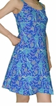 Hawaiian Sea Turtles womens bias cut dress