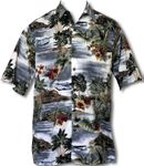 Seaplanes Island Paradise Men's Shirt