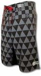 "22"" Shark Pit HIC 8 Way Stretch Boardshorts"