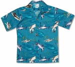 Sharks ! Boy's Shirt
