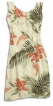Shell Ginger Vintage Print Short Tank Dress