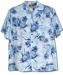 Silent Pineapple men's RJC cotton Hawaiian Shirt