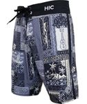 Silver Channel HIC 8 way stretch boardshorts