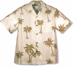 Simply Coconut Tree Men's Shirt