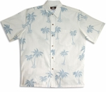 4X Simply Coconut Tree II Reverse Shirt