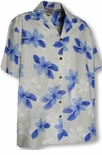 Single Tone Plumeria Boy's Shirt