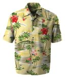 Smooth Vacation Men's Cotton Aloha Shirt