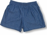 CLOSEOUT Solid Color Girl's Pull On Shorts