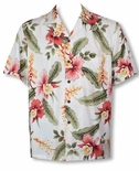 Sonic Orchid Men's Rayon Shirt