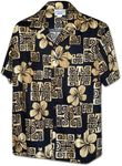South Sea Tattoo Hibiscus Men's Shirt