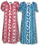 Spring Flourish Hawaiian Mu'u Mu'u Cotton Blend Dress 3X