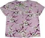 Star Orchid Women's Collarless Blouse