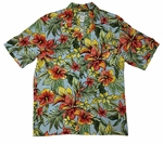 Starburst Mens Rayon Shirt
