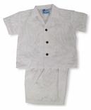 Summer Breeze Boy's Wedding White 2pc