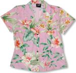 CLOUSEOUT Summer Flourish Womens Fitted Blouse